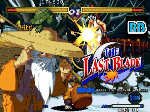 1997 [60fps] The Last Blade 4550400pts Okina ALL