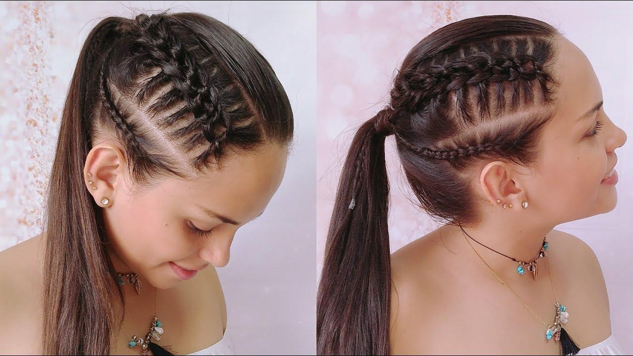 Peinados con trenzas pelo recogido - Trenzas peinados faciles ...
