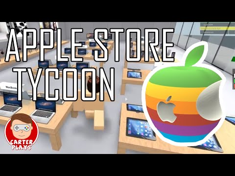 Welcome to the Genuis Bar!!! | Roblox Apple Store Tycoon | CarterPlays