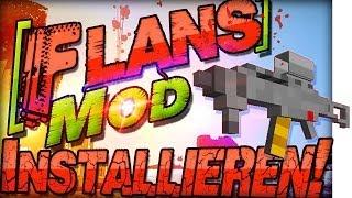 Minecraft 1.8 Flans Mod INSTALLIEREN | Fahrzeuge & Waffen | Deutsch Mac Windows Forge Mods CoD BF