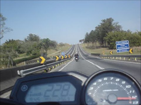 TOP SPEED - XJ6 (228km/h) - YouTube