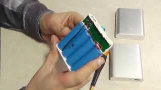 видео Внешний аккумулятор Хiaomi Power Bank 10400