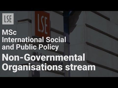 MSc International Social and Public Policy NGOs Stream