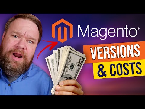 Magento Pricing and Versions 2021 [Magento Commerce Cloud vs Magento Open Source]