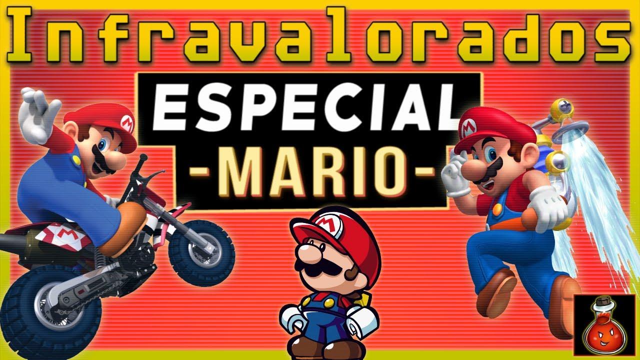 VIDEOJUEGOS INFRAVALORADOS de Super Mario [Super Nintendo - Game Cube...]
