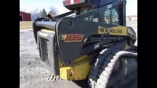 New Holland C185 Track Skid Steer Loader