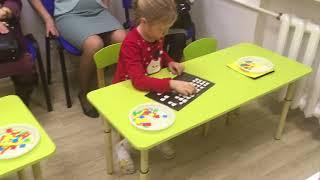 Открытые занятия у детей 6 лет по программе