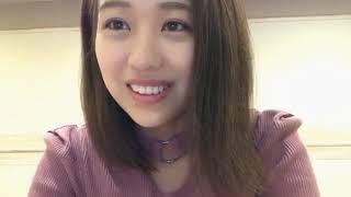 프로듀스48에 출연했던 시노자키 아야나(篠崎 彩奈)의 2019년 5월 21일...