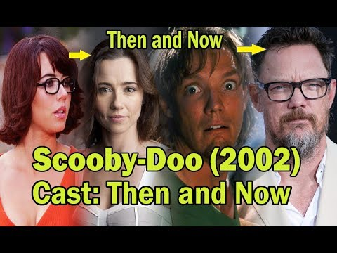 Scooby Doo 2002 Cast Then And Now 2019 Scoobydoo Trending Movies Youtube