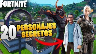 20 FORTNITE SECRET SKINS! CHARACTERS THAT MAY ARRIVE IN SEASON 9 *CONCEPTS*