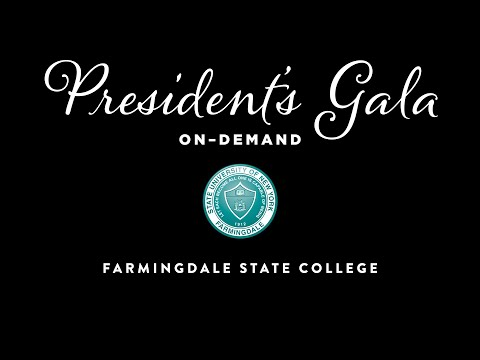 The Farmingdale State College President's Gala On-Demand – The Best Event You Won't Attend in 2020