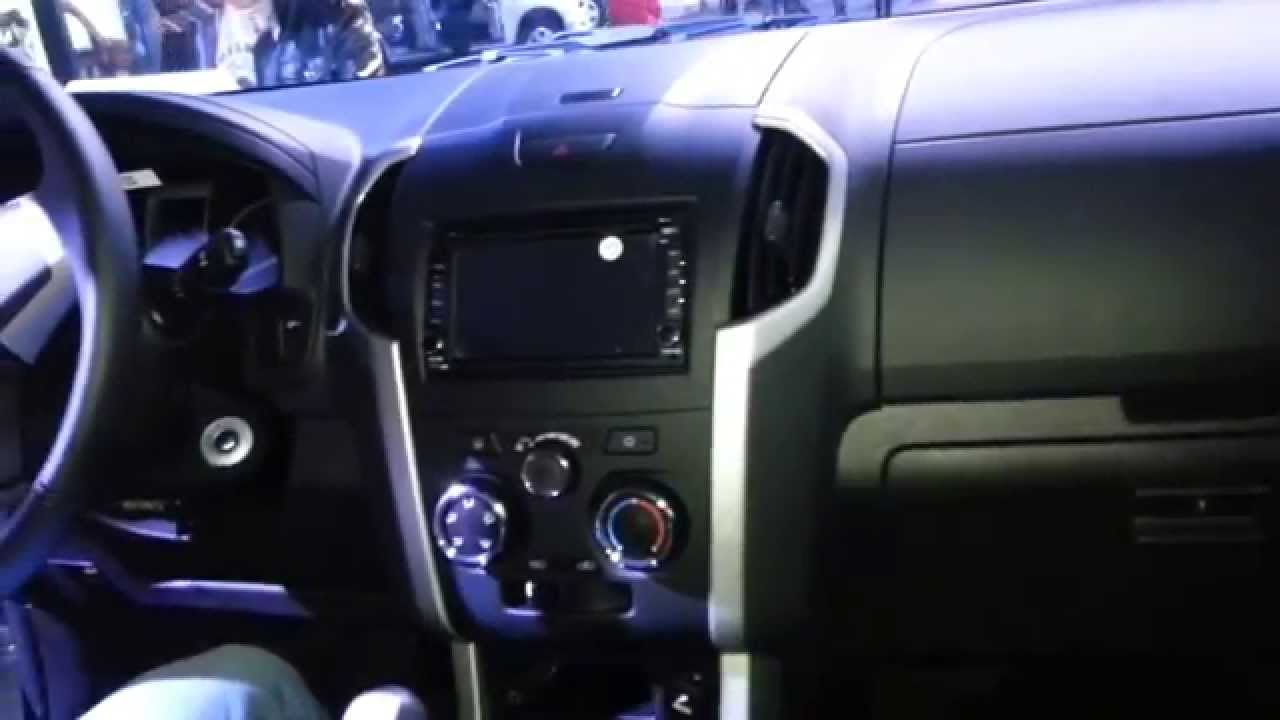 Chevrolet Dmax 4x4 2015 Video Interior Colombia