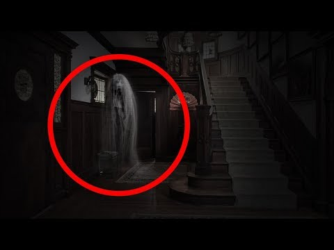 GHOST IN THE HOUSE!?