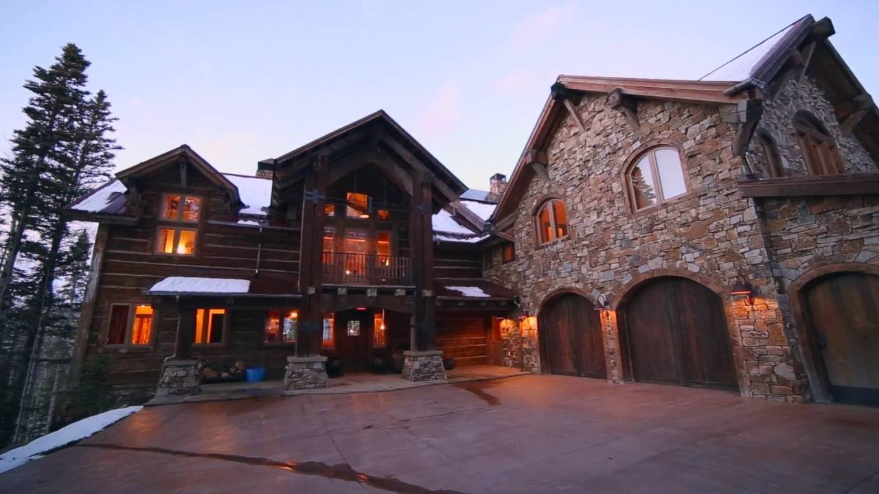Beautiful unique rustic mansion in telluride colorado for Rustic mansion