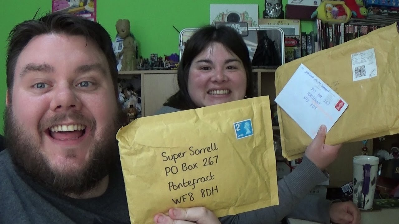 Po Box Opening Awesome Fan Mail Letters Gifts Supersorrell