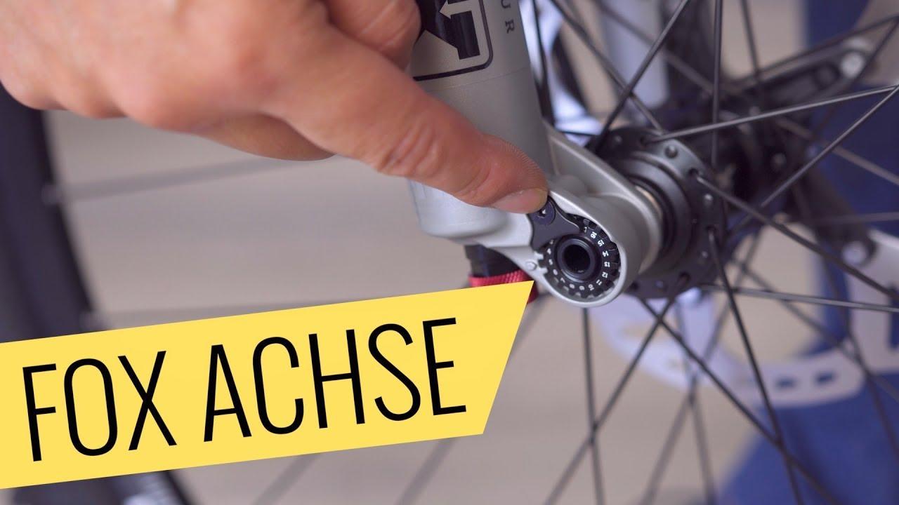 Rennrad Spannachse für VorderradMTB
