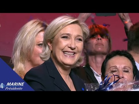 Discours de Marine Le Pen à Marseille (19/04/2014) I Marine 2017