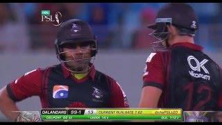 Match 8: Quetta Gladiators vs Lahore Qalandars - Umar Akmal Innings
