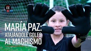 María Paz Mora, la niña que fue discriminada en el torneo de Pony Fútbol - Noticias- El Espectador