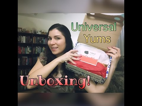 Universal Yums Unboxing! - April 2016 (Poland)