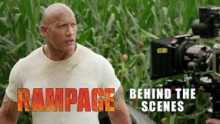 'Rampage' Behind The Scenes