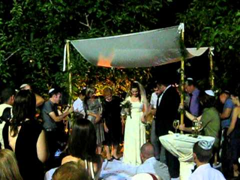 Breaking Glass Jewish Wedding