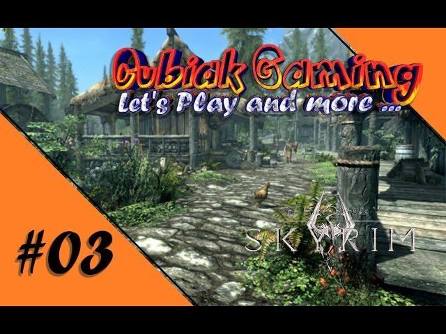 ERSTE EINDRÜCKE IN WEISSLAUF ★ Let's Play The Elder Scrolls V: Skyrim Remastered #03