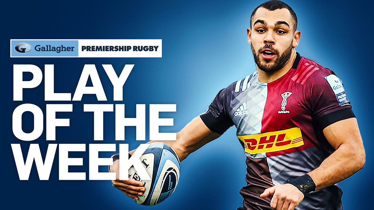 Quins Turn on the Style to Shock Sale with Marchant Tries! | Play of the Week |Gallagher Premiership