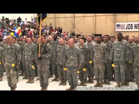 Fort Campbell Welcome Home Ceremony - 2nd BCT - April 23rd 2011