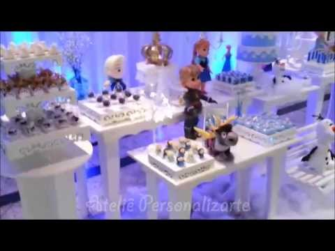 Видео Artigos para festa infantil frozen