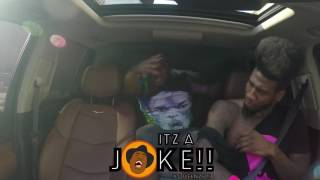 Queenzflip rips iman shumpert shirt in the car (raw footage)