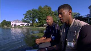 Paul George Fishing and Dishing with Dennis Scott on Inside Stuff.