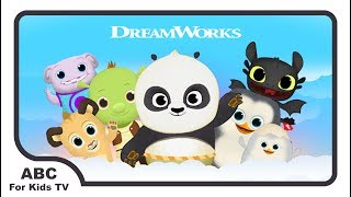 DreamWorks Shrek And Friends Top Best Educational Apps For Kids l ABC For Kids TV
