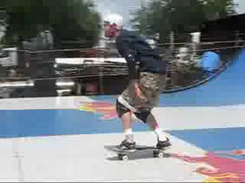 Brian Schaefer and Ty Evans on Vert While Jamie Th...