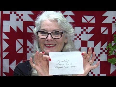 How To Make A Simple Quilt Label