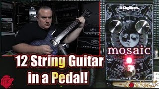 Digitech Mosaic : 12 String Guitar Pedal : Demo & Review