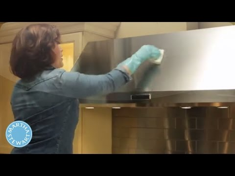 How to Clean the Range Hood - Martha Stewart