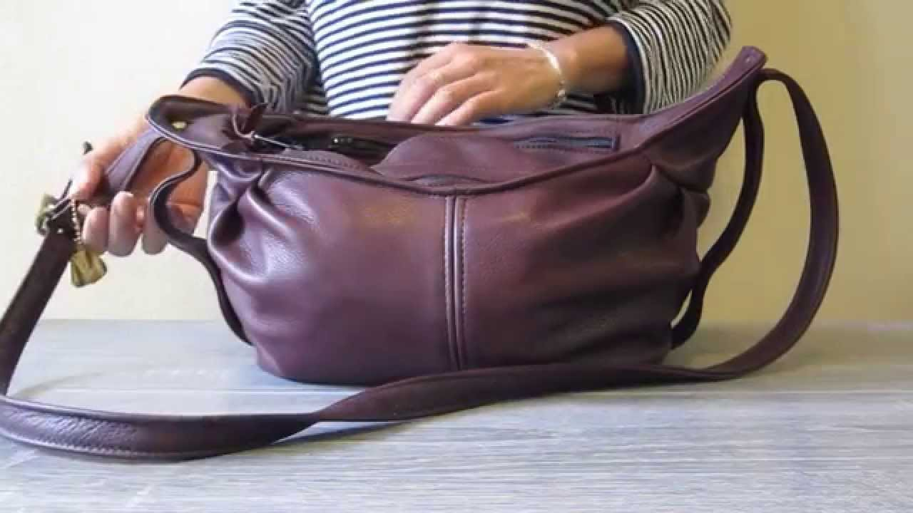 6e7fa4146e73 Victoria Leather Co Bag review as diaper bag!!! - YouTube