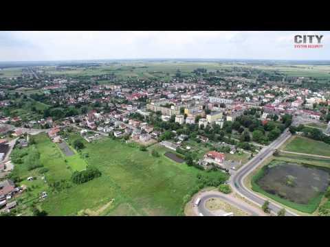 Radzyń Podlaski z lotu ptaka w rozdzielczości 4K