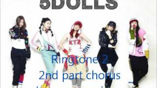 Download [Ringtone+DL link] 5dolls- Your words MP3 song and Music Video