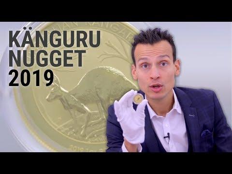 1 Unze Goldmünze - Känguru Nugget 2019