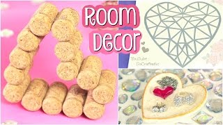 DIY Room Decor // Heart Decorations for Valentine