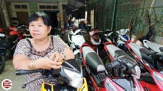 Xem dàn xe máy cũ từ 12 triệu của dì Phú 40 năm trong nghề ở Tây Ninh có biển số độc 79999