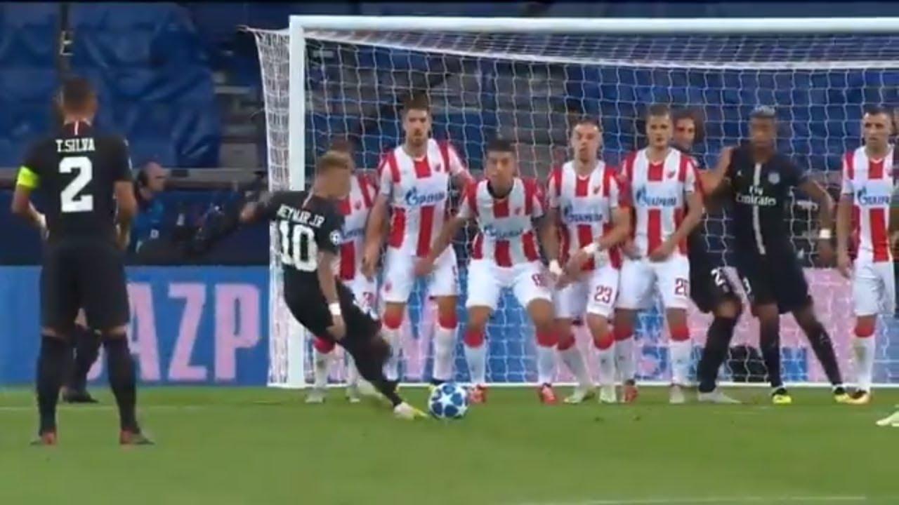 Download Neymar Champions League HAT TRICK | PSG vs. Red Star Belgrade