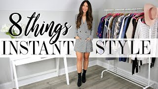 8 Things You NEED To Look Stylish…INSTANTLY!