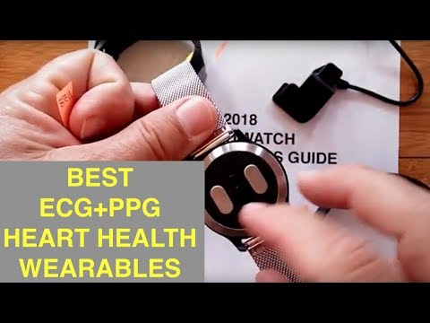 2018 Smartwatch Holiday Buyer's Guide: Best ECG+PPG Heart Health Bands/Watches