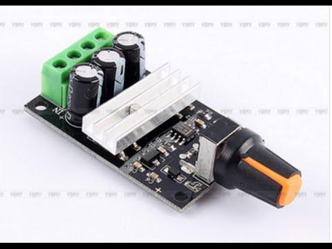 Schema Elettrico Regolatore Di Tensione Velocità Motore Elettrico Corrente Continua : Unboxing regolatore di interruttore di controllo di velocità del