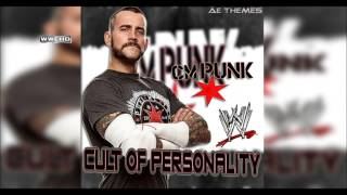 "WWE: ""Cult Of Personality"" (CM Punk) Theme Song + AE (Arena Effect)"