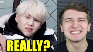 when Yoongi is 100% done with BTS Reaction [Suga]