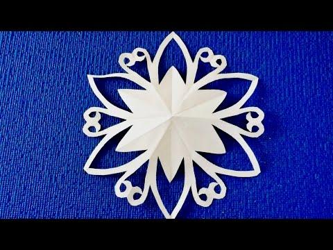 видео: diy. ✽ Снежинка для Девочек ✽ snowflake.